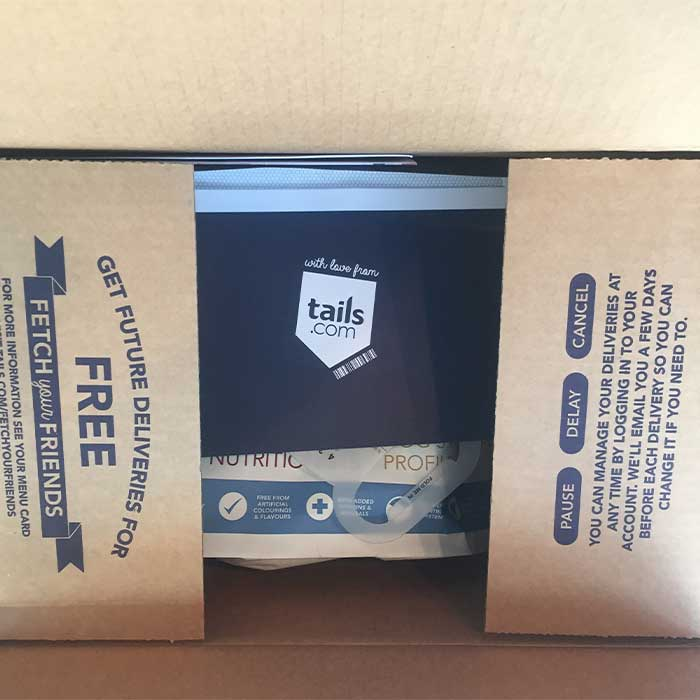 Tails.com Packaging Review 2